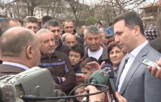 Груевски денес во посета на Делчево