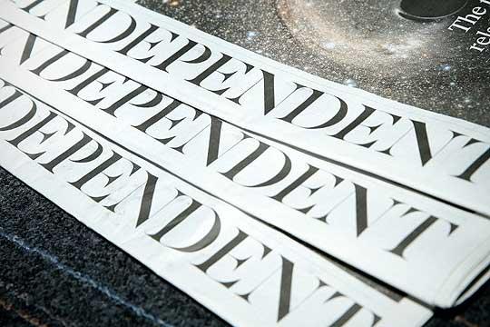 """""""Индепендент"""" од денеска само во електронска форма"""