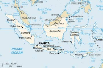 Индонезија: Десет лица земени за заложници