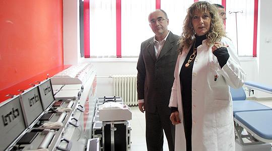 Најсовремена опрема донирана на Институтот за трансфузиона медицина