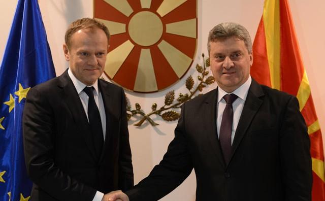 Иванов: Во Македонија нема да се градат бегалски кампови