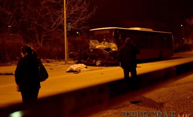 Тешка сообраќајка во Кисела Вода, загинаа двајца браќа