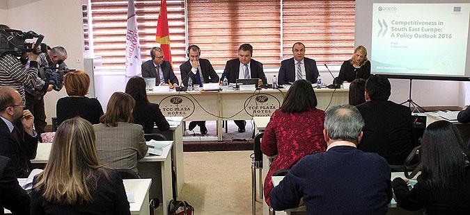 Македонија е лидер во конкурентноста во ЈИЕ