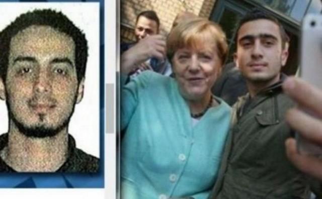 Меркел направила селфи со терористот од Брисел?!