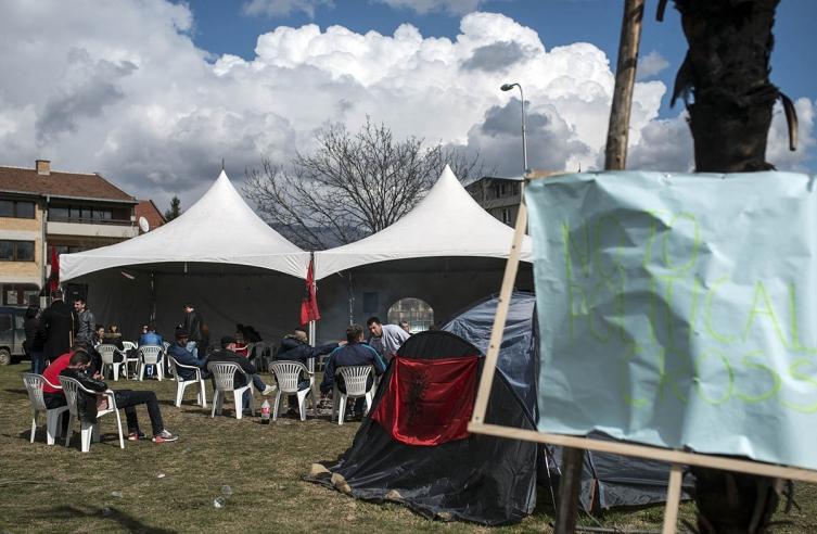 ДУИ го растури кампот поради Задушница