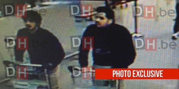 Објавена фотографија од напаѓачите во бриселскиот аеродром