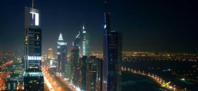 Голем пожар во облакодери во Обединети Арапски Емирати