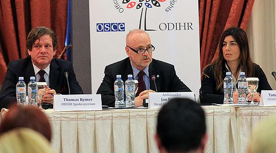 ОБСЕ/ОДИХР ја почна набљудувачката мисија за предвремените избори