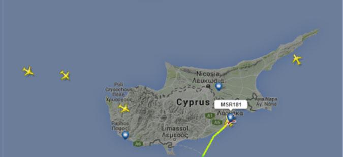 Киднапиран патнички авион на лет за Каиро