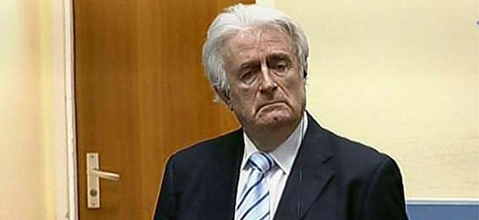 Радован Караџиќ осуден на 40 години затвор