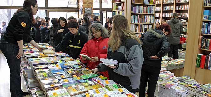 "Саем на книга на ""Матица македонска"" во Штип"