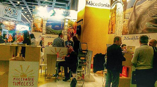 Македонија со штанд на Саемот за туризам во Берлин