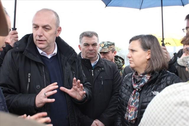 Директорот на БЈБ Савовски оставри средба со Викторија Нуланд