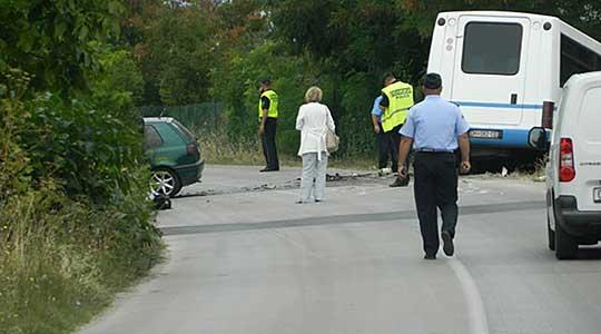 Усмртен пешак на патот Кочани-Штип