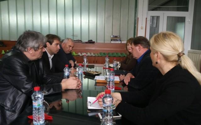 """Спасов и Ѓорѓиевски во посета на компанија за производство на чевли """"Тушевски"""""""