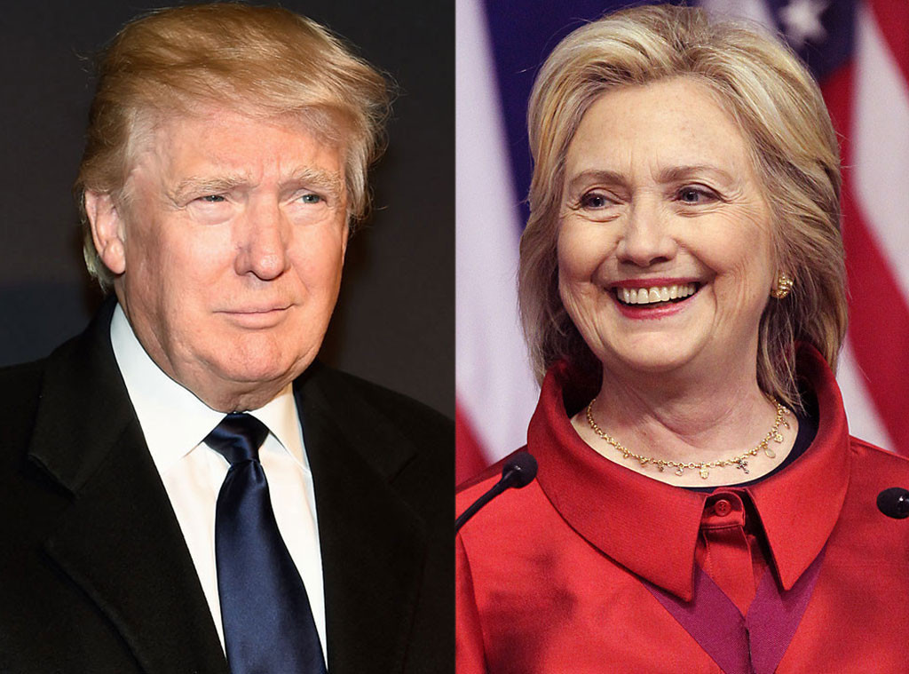 Клинтон води пред Трамп со пет проценти