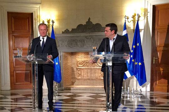 Туск: ЕУ нема да ја напушти Грција