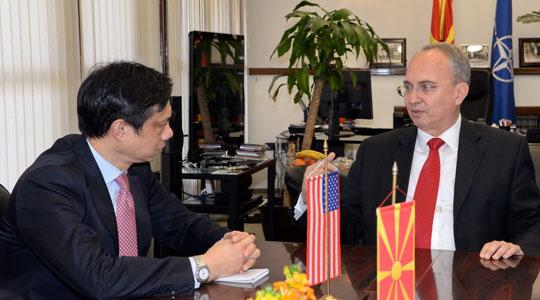 Јолевски побара поддршка од САД за интеграција на Македонија во НАТО