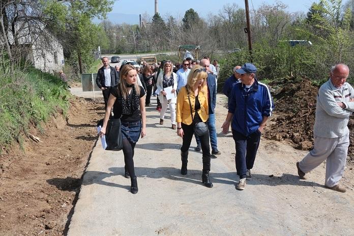Се реконструира улицата Саса 2 во Пинтија