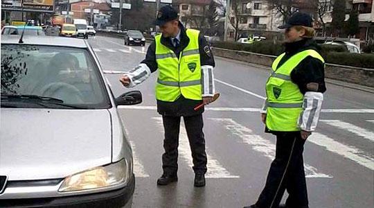Вчера во Скопје 13 сообраќајки, 5 лица повредени