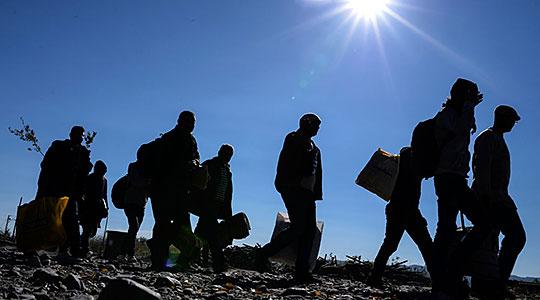Фронтекс: Благодарение на Македонија намален бројот на мигранти во ЕУ