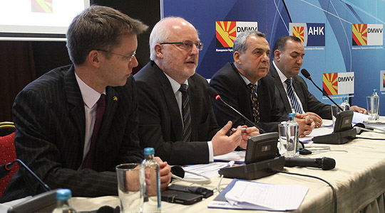 Членките на Македонско-германската комора повторно би инвестирале во Македонија