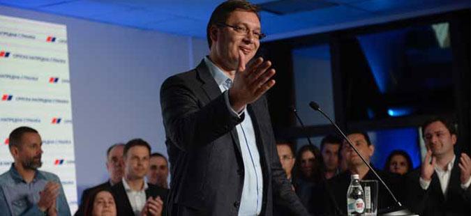 Вучиќ прогласи победа на парламентарните избори