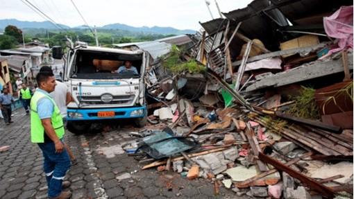 Жртвите од земјотресот во Еквадор достигнаа бројка од  655