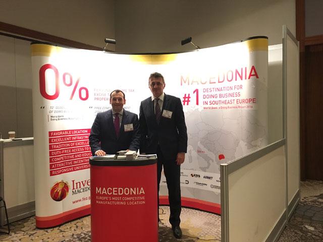 Македонија претставена на самит за производствени компании од Северна Америка