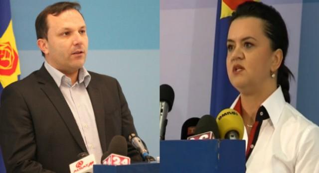 Собранието ги прифати оставките на министрите на СДСМ