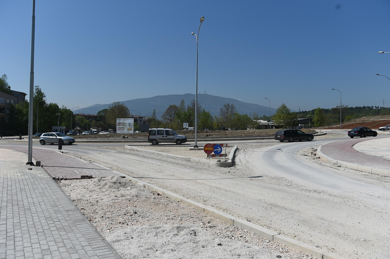 ФОТО: Во завршна фаза изградбата на кружниот тек во Автокоманда