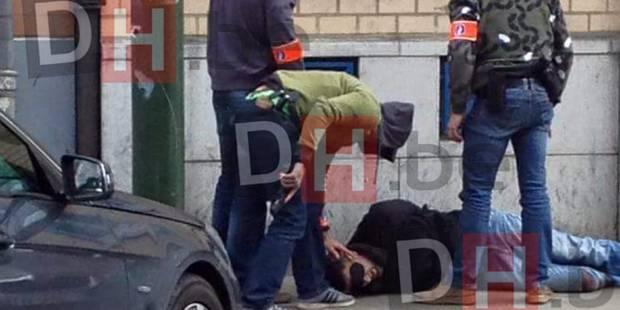 Апсењето на Мохамед Абрини во Андерлехт