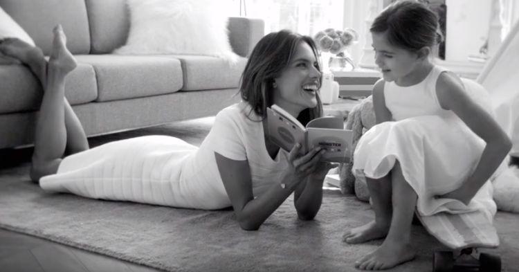 ВИДЕО: Алесандра Амбросио во моден едиторијал со ќерката
