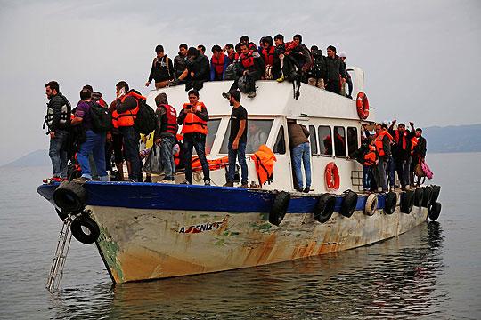 Во Грција за три дена пристигнале повеќе од 600 мигранти