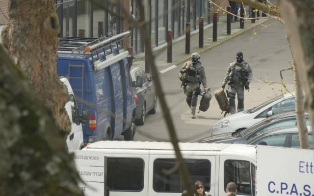 Голема полициска акција во Брисел, ФОТО: РТБФ