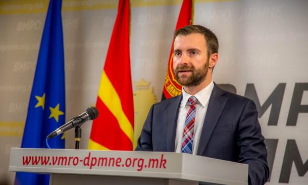 Димовски: Заради потврди дека ќе оди до крај со насилни сценарија во Македонија