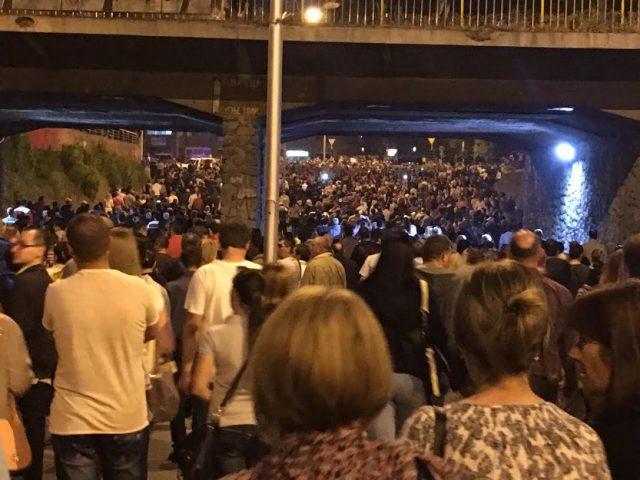 ВИДЕО: Масовен протест против СДСМ, Заев и Верушевски