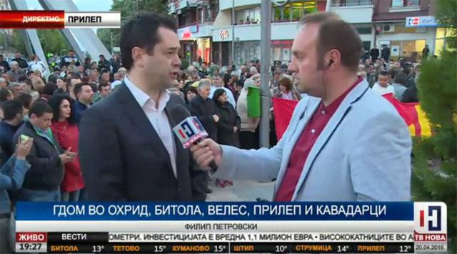 Петровски: Утре на масовен собир да му кажеме стоп на Заев!