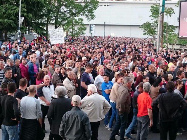 ФОТО: Почна собирот на ГДОМ, десетина илјади граѓани со поддршка на изборите