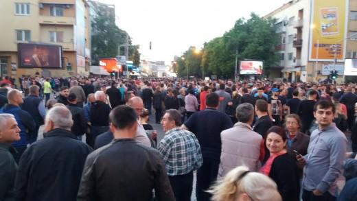 ФОТО: Започна протестот на ГДОМ, бројот на граѓани постојано расте