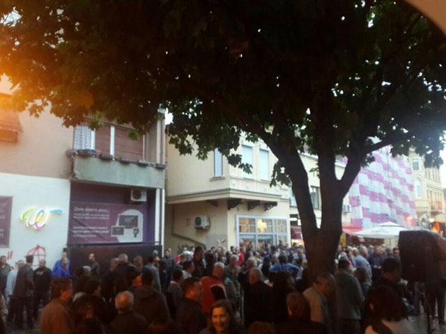 """ГДОМ во Битола: Илјадници граѓани кажаа """"НЕ"""" за вандалското сквернавење"""