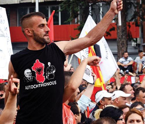Албанската дијаспора на средба со Заев договарала федерализација?!