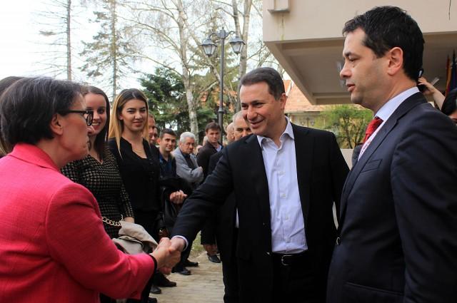 Груевски: Македонија бележи одличен раст на економијата и намалување на невработеноста