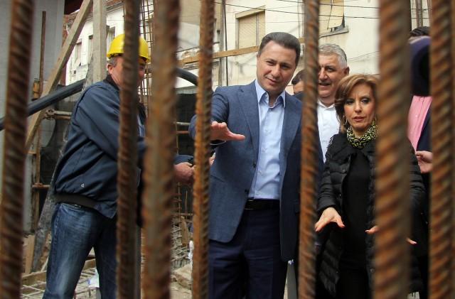 Груевски: Изградбата на Стариот театар во Струмица готова до крајот на годината