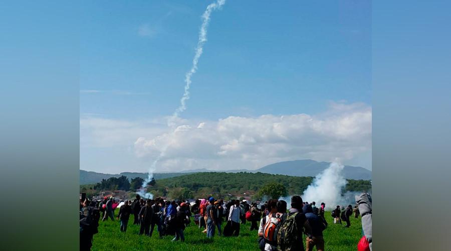 Тензично на македонско-грчката граница, повредени тројца полицајци