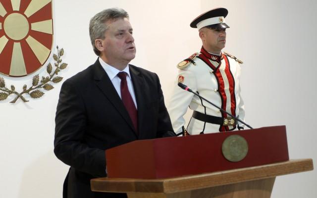 Обраќање на претседателот Иванов во кое соопшти за одлуката за амнестија за едно лице и аболиција на политичарите