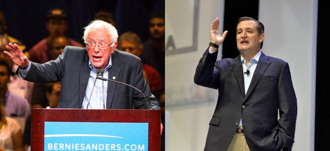 Тед Круз и Берни Сандерс победија на првичните избори во Висконсин