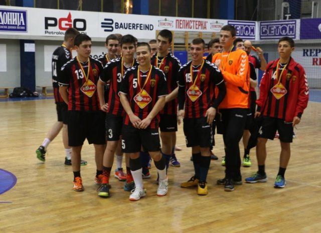 Кадетите на Вардар јуниор се вицепрваци на Македонија