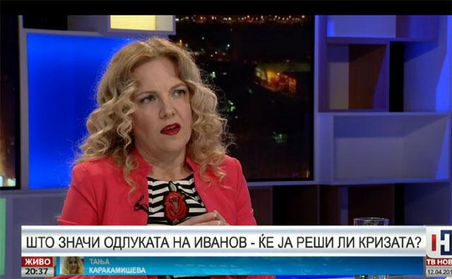 Одлуката на претседателот Иванов има голема политичка тежина