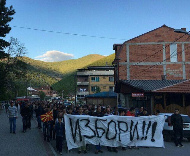 Кичево се крена на нозе: За Македонија се работи!